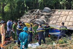 Tình trạng các nạn nhân trong vụ xe khách lao xuống vực ở Kon Tum giờ ra sao?