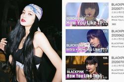 Biết rõ sức hút quốc tế của Lisa nên nhà đài 'ưu ái' cho chiếm trọn ảnh bìa video các sân khấu của BLACKPINK?