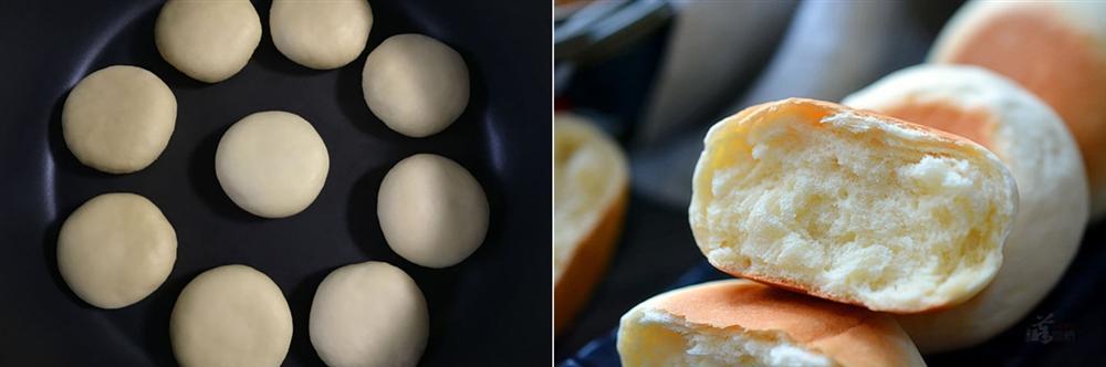 Không cần lò nướng, các chị vào mà xem cách làm bánh mì sữa xốp mềm bằng chảo đây này!-4