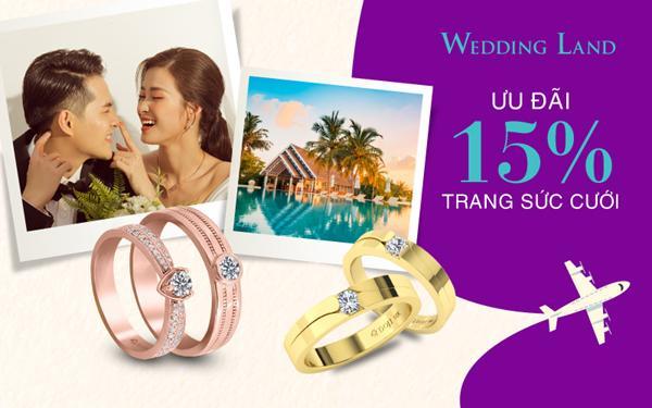 Wedding Land ưu đãi 15%, tặng kỳ nghỉ trăng mật 5 sao-4