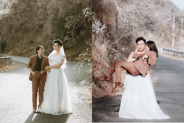 Cặp đôi khỏa thân nằm giữa đường chụp ảnh cưới gây tranh cãi-3