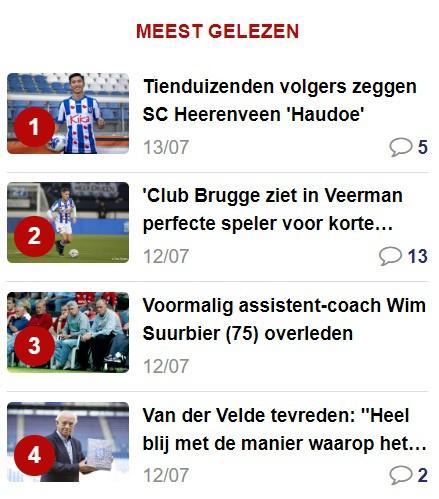 Báo Hà Lan đưa tin fanpage Heerenveen tụt follow vì Văn Hậu rời CLB-1