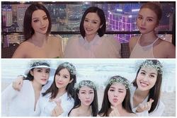 Hội chị em chẳng chung huyết thống vẫn giống nhau kết nạp thêm Huyền Baby - Hạnh Sino và Hương Giang - Salim, Quỳnh Anh Shyn