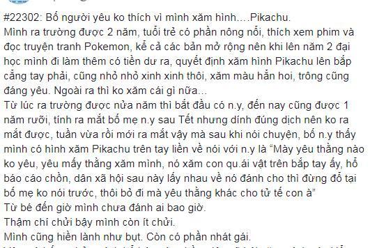 Thanh niên xăm hình Pikachu bị bố bạn gái nhận lầm là quái vật và cái kết phũ-1