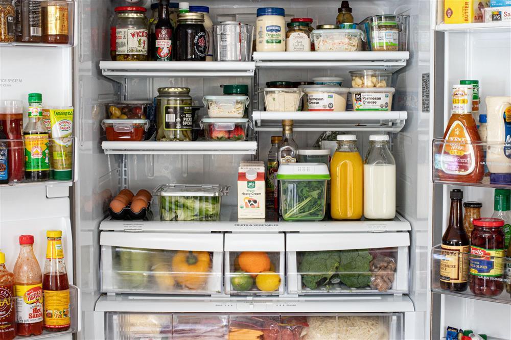 Vài chiêu sắp xếp thực phẩm trong tủ lạnh hay ra trò cho chị em yêu bếp-1