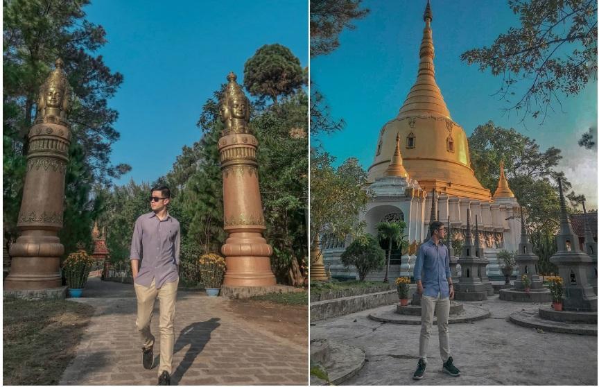 Sống ảo ở 3 ngôi chùa xứ Huế có kiến trúc đẹp-1
