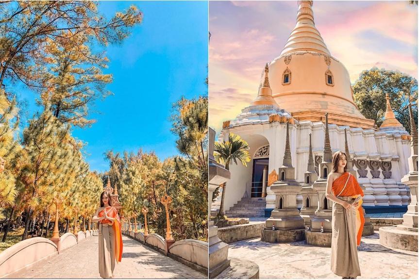 Sống ảo ở 3 ngôi chùa xứ Huế có kiến trúc đẹp-2