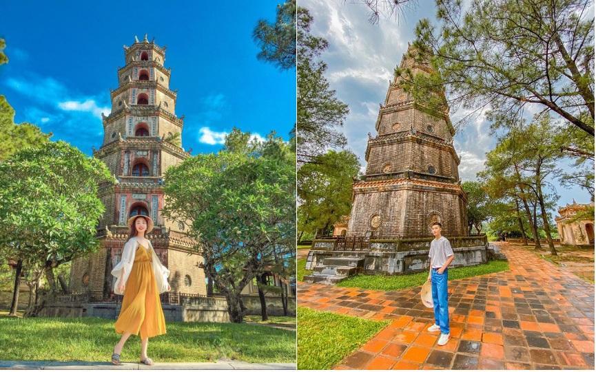 Sống ảo ở 3 ngôi chùa xứ Huế có kiến trúc đẹp-4