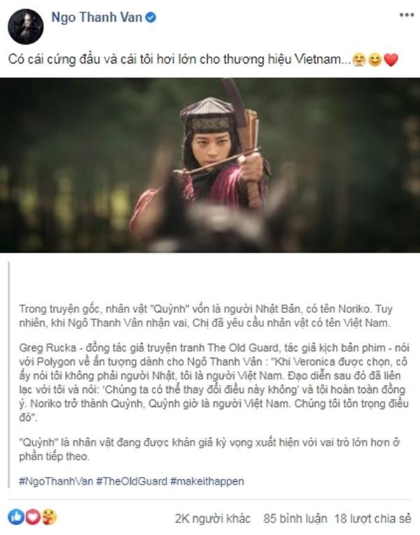 Ngô Thanh Vân đưa điều kiện khi đóng phim Hollywood: Đặt tên nhân vật theo tiếng Việt-2