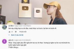 Hương Ly cover hit mới của Sơn Tùng M-TP bị chê 'nẫu như cơm thiu'