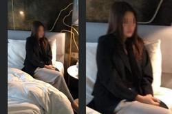 Rò rỉ ảnh mỹ nhân bị bắt khi đang bán dâm, ngoại hình rất giống một hoa hậu