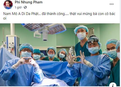 Sao Việt nín thở - vỡ òa khi 2 bé gái song sinh thực hiện ca mổ tách thành công-2