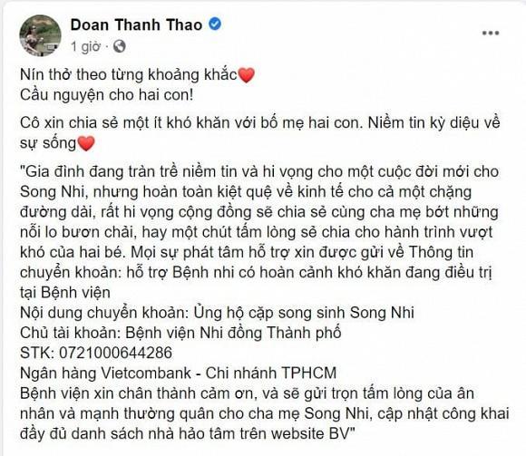 Sao Việt nín thở - vỡ òa khi 2 bé gái song sinh thực hiện ca mổ tách thành công-7