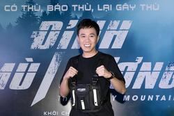 Anh Đức tươi tắn rạng rỡ đi ra mắt phim bom tấn võ thuật Việt Nam