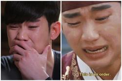 Những cảnh khóc ấn tượng của 'ông hoàng nước mắt' Kim Soo Hyun