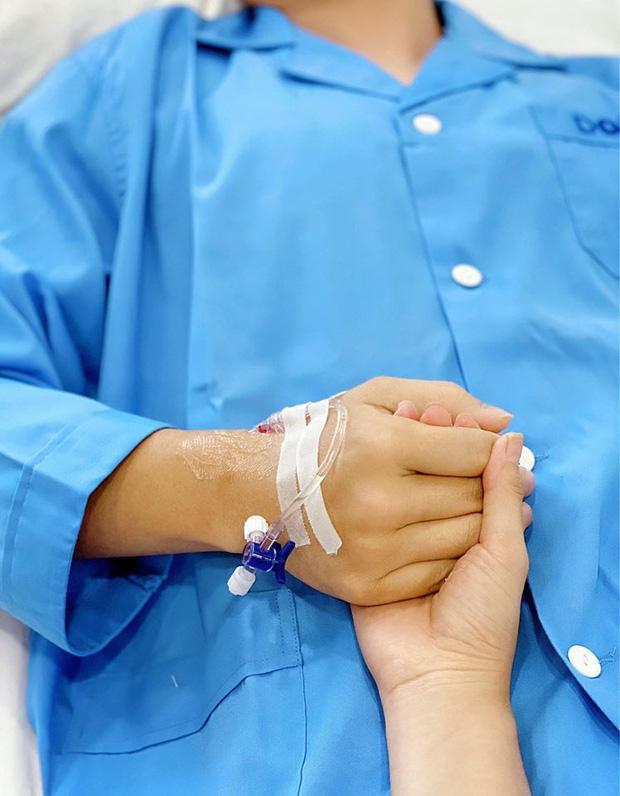 Đăng Khôi phẫu thuật viêm tai cấp, tâm sự của bà xã gây xúc động-3