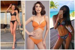 Tường Linh diện bikini siêu nhỏ khoe eo 53 cm soán ngôi Ngọc Trinh