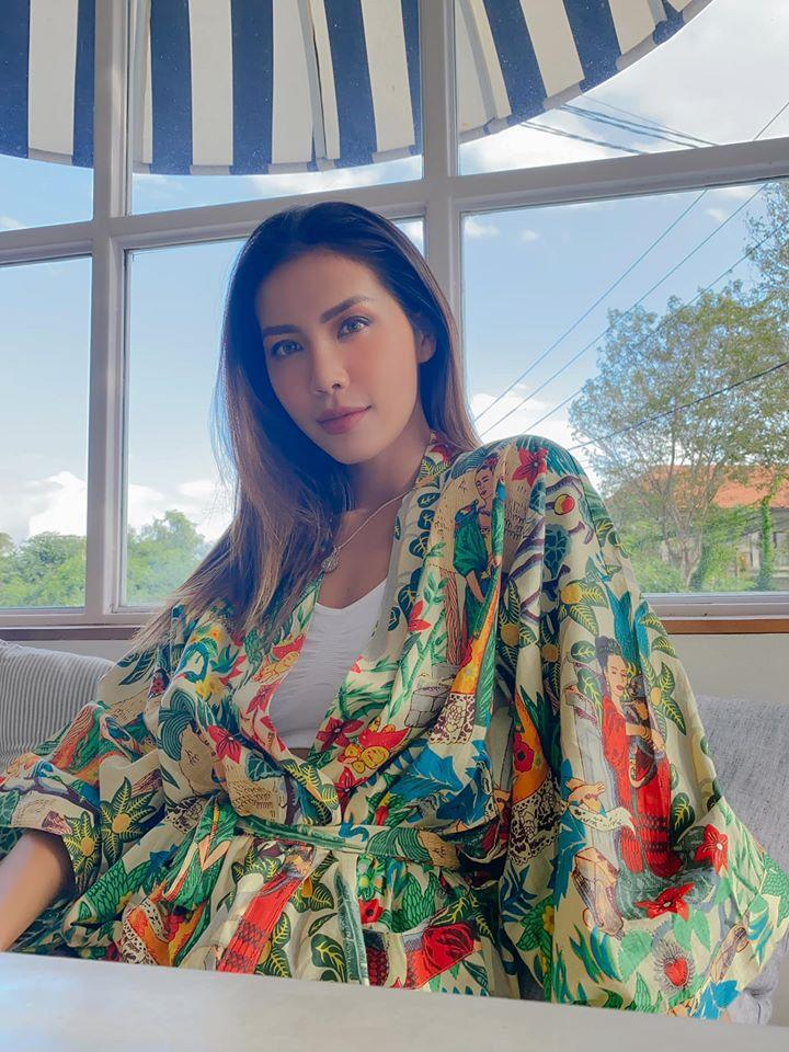 Minh Tú được ủng hộ đại diện Indonesia thi Hoa hậu Hoàn vũ-1