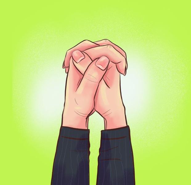 Nắm hai tay lại và xem ngón tay đặt như thế nào: Bài test đơn giản hé lộ bí mật sâu kín nhất về tính cách của bạn-2