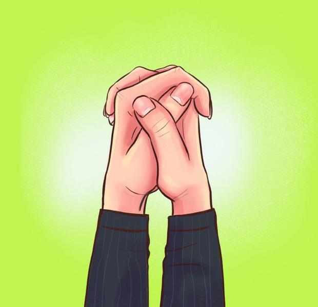 Nắm hai tay lại và xem ngón tay đặt như thế nào: Bài test đơn giản hé lộ bí mật sâu kín nhất về tính cách của bạn-4