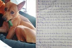 Bật cười với bài văn tả con chó của cô bé tiểu học vì 'có lúc bỏ nhà theo trai'