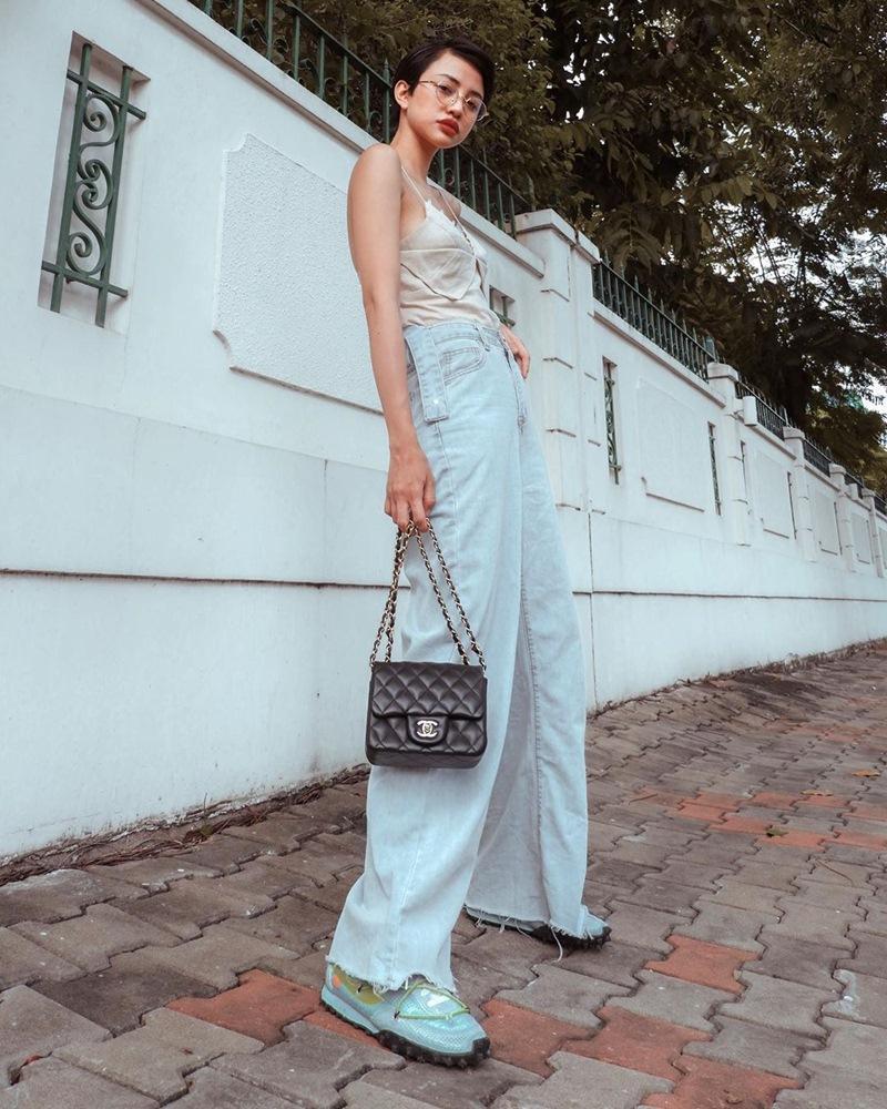 Mặc scandal bị bôi nhọ danh dự, Tường Linh vẫn khoe street style chất lừ-6