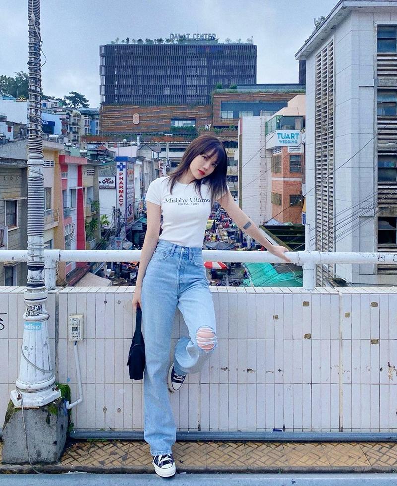 Mặc scandal bị bôi nhọ danh dự, Tường Linh vẫn khoe street style chất lừ-7