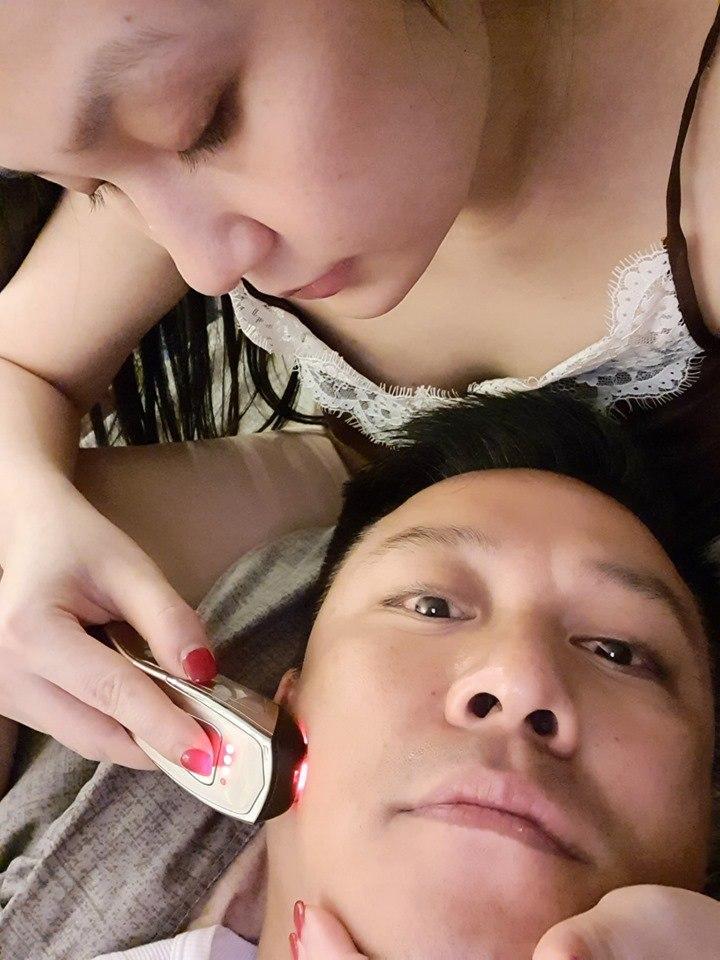Được bà xã Thu Hương chăm da kĩ lưỡng, bảo sao Tuấn Hưng 41 tuổi mà trẻ mãi không già-7