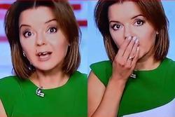 Nữ MC bị rụng răng khi đang dẫn bản tin phát sóng trực tiếp
