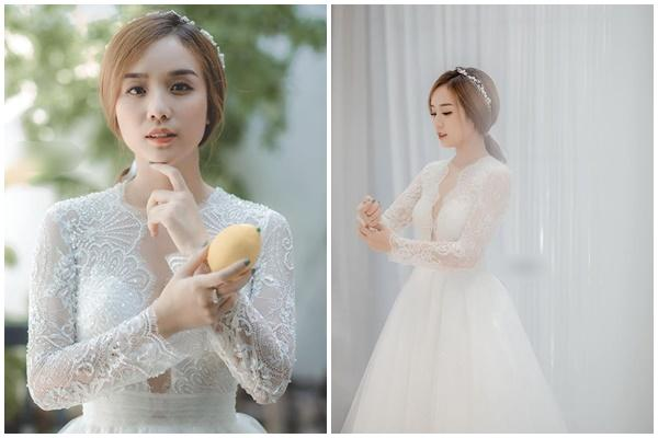 Bảo Ngọc mặc váy cưới để thỏa ước mơ sau ly hôn Hoài Lâm
