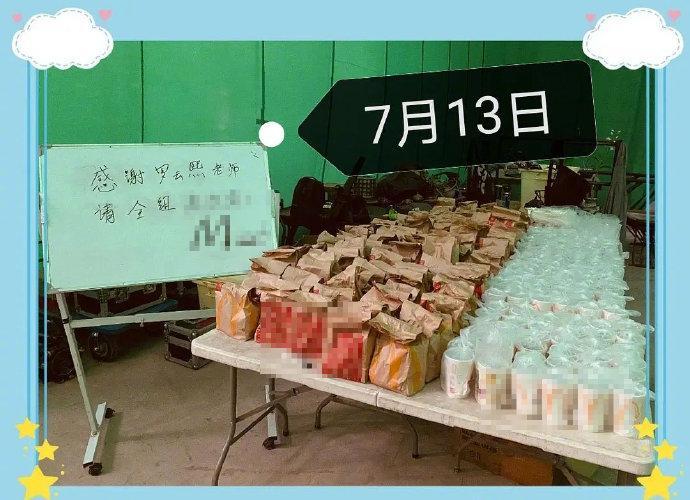 Hào phóng như La Vân Hi: mua đồ ăn cho đoàn phim nhiều đến mức trợ lý phải kêu gào-7