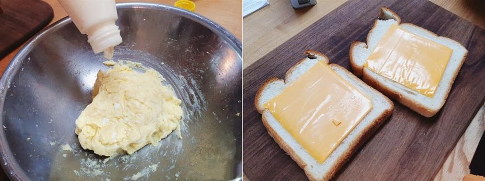 Muốn có bữa sáng nhanh thần tốc lại ngon lành thì món bánh mì kẹp này là lựa chọn số 1-2