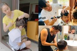 Sao Việt cắt tóc cho con: Thu Minh thất bại, Kỳ Hân xứng danh 'cây kéo vàng'