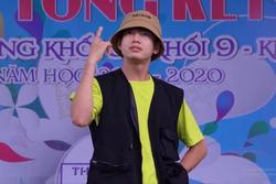 Quang Đăng nhảy 'Bigcity boi' toàn ngôn ngữ 18+ trong trường tiểu học