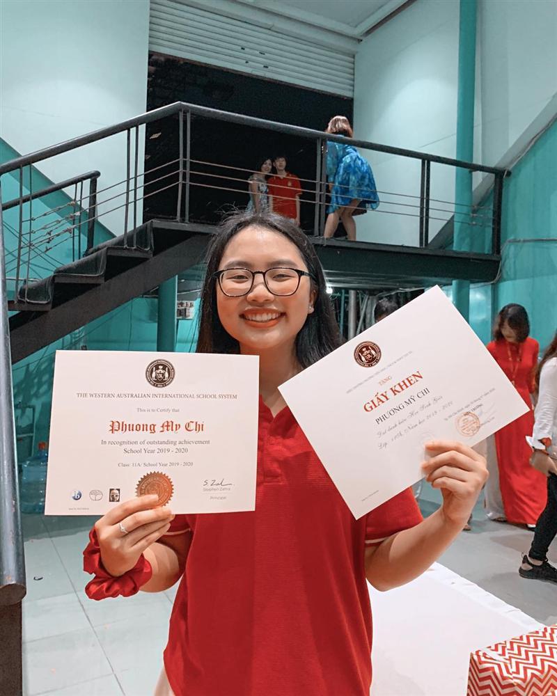 Phương Mỹ Chi khoe thành tích học tập đáng ngưỡng mộ tại trường quốc tế-1