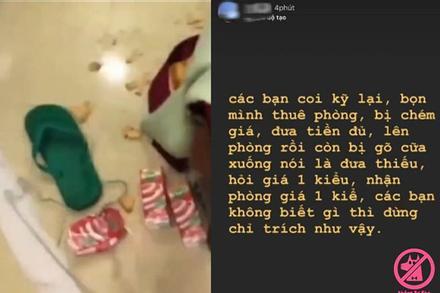 Chủ khách sạn nói gì khi nhóm bạn trẻ Vũng Tàu 'hạ độc' phòng ở, bị trả thù vì ăn chặn