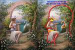 Ấn tượng thị giác: Bạn nhìn thấy mặt con hổ, 1 cô gái hay 3 cô gái?-2