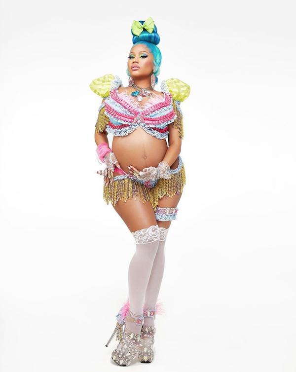 Nicki Minaj chính thức công bố mang thai con đầu lòng ở tuổi 37-1