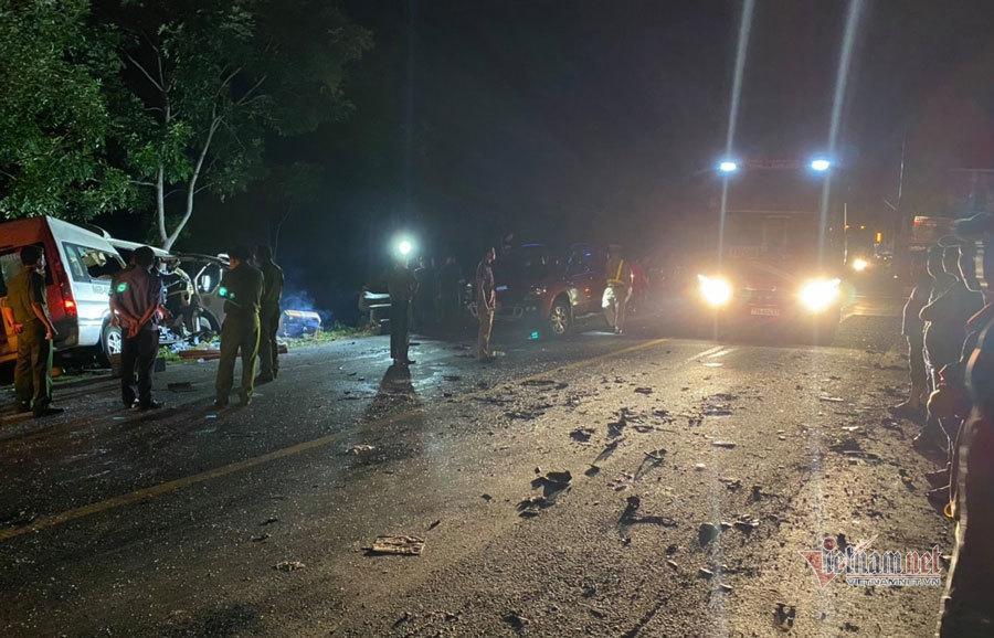 Vụ tai nạn 8 người tử vong tại Bình Thuận: Xe khách đi sai-1