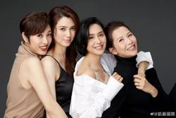 4 mỹ nhân hàng đầu Hong Kong đọ sắc chung một khung hình