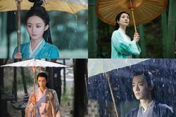Khoảnh khắc cầm ô đẹp đến nao lòng của dàn mỹ nhân, nam thần phim Hoa ngữ