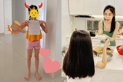 Con gái đã 7 tuổi nhưng Thủy Tiên vẫn quyết giấu dung mạo