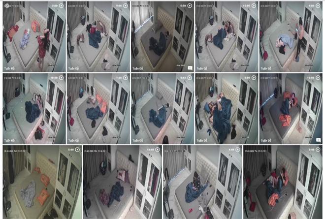 40 clip người phụ nữ để 3 đứa trẻ sờ soạng: Công an xác định tất cả sống chung nhà-2