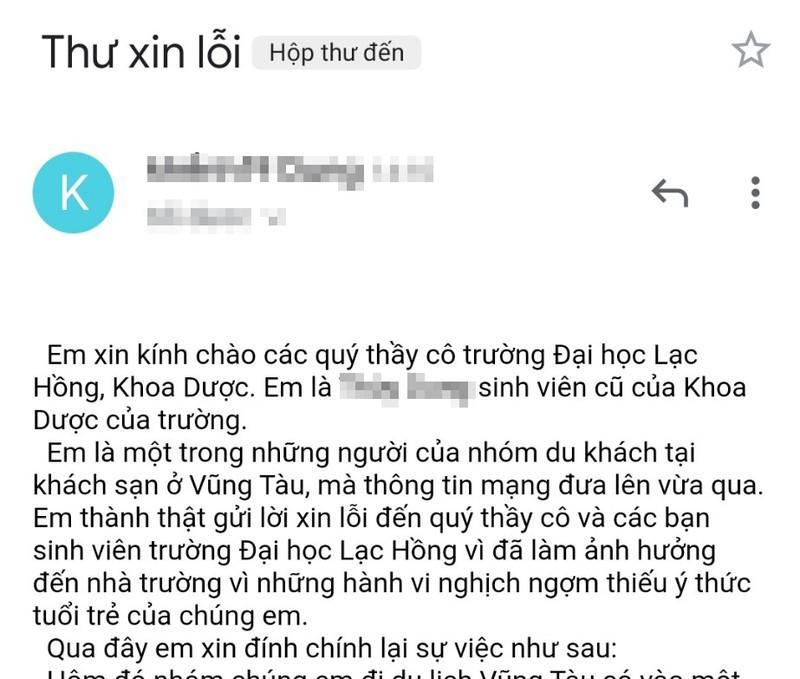 Cô gái trong nhóm xả rác ở khách sạn Vũng Tàu ăn năn vì hành động thiếu ý thức-2