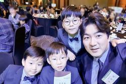 Song Il Gook tiết lộ điều đặc biệt về 3 quý tử Daehan - Minguk - Manse