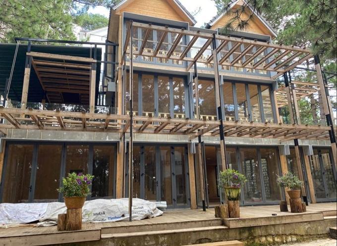 Phan Như Thảo xây thêm biệt thự gỗ 800 m2-1