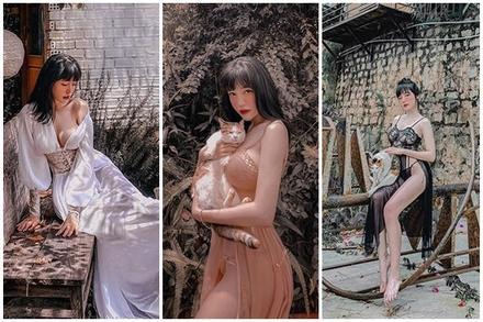 Elly Trần vượt mặt Ngọc Trinh trở thành hot mom nghiện đồ ngủ ren sexy nhất Vbiz