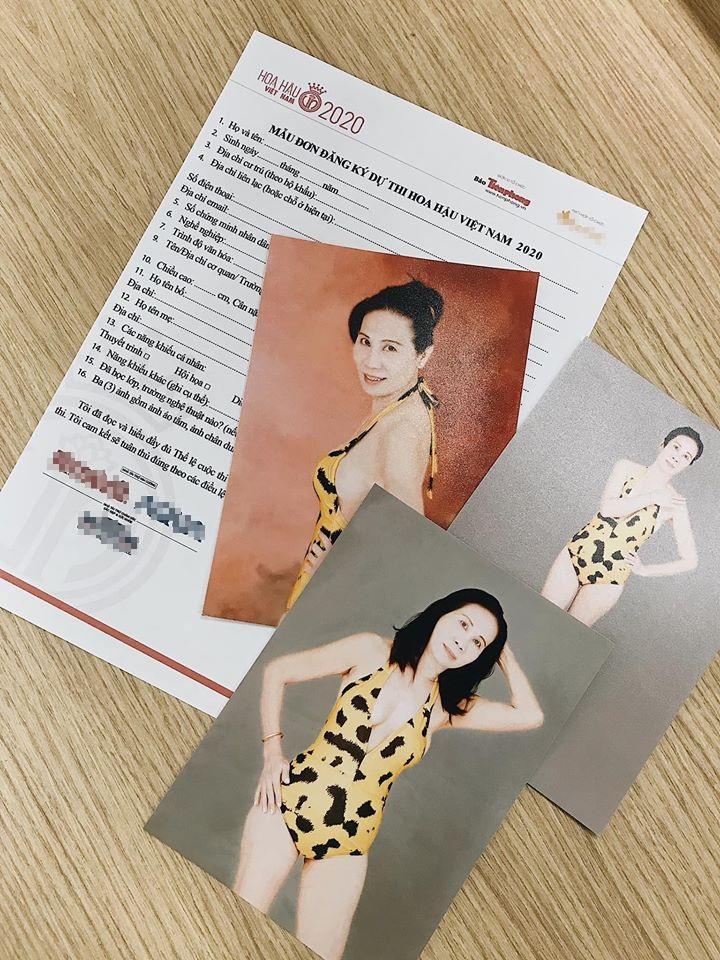 SHOCK: Người phụ nữ 59 tuổi nộp hồ sơ thi Hoa hậu Việt Nam 2020-1