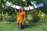 4 tháng mắc kẹt Bali, Minh Tú tổ chức 'Lễ bế giảng khóa tu mùa hè' trước khi rời khỏi