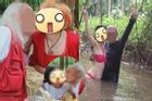 Học viên ôm ấp tắm bùn, 'ăn kem kiểu Ý' khi học đàn tranh cùng nghệ nhân nổi tiếng Việt Nam